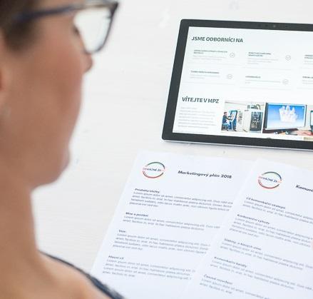 marketingový plán a komunikační strategie